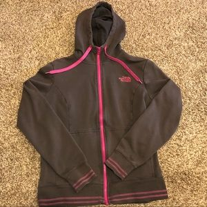 North face zip up